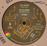 Black Omolo - Fit & Active / Kunterbunt Fam. - Active Horns (Satta Dub) 12""